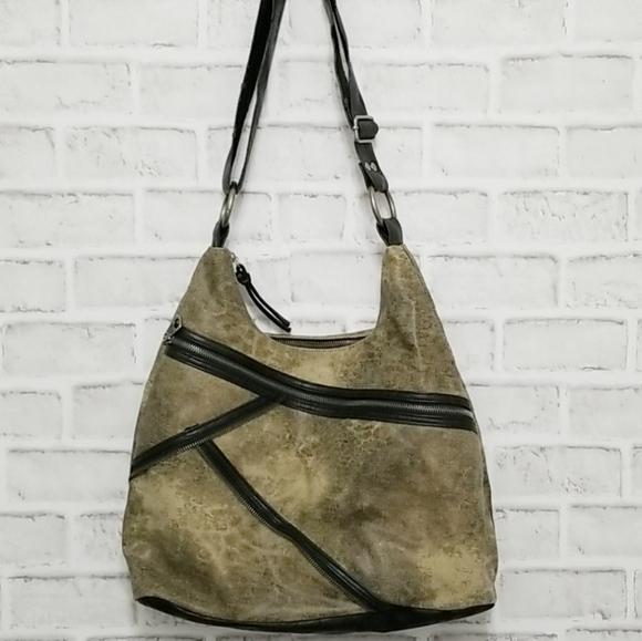 ROXY Zipper Hobo Bag